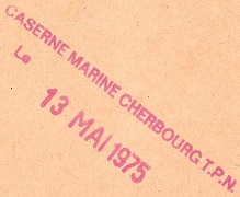 * CHERBOURG * Cachet15