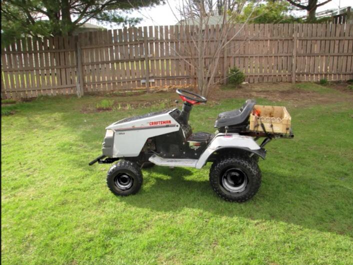 OFFROAD Craftsman LT4000-2 mudding mower (MTD12HPTURBO) Image37