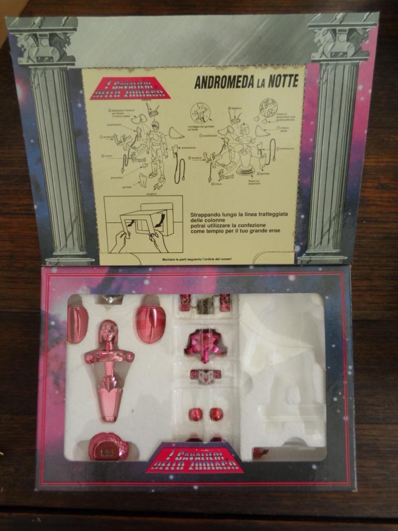 Cavalieri dello Zodiaco scatola tempio 1988/89 Androm11