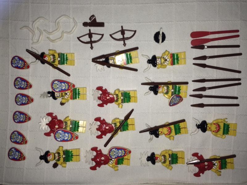 Lego set personaggi Gendarmi, Pirati e Oropacos Img_6119