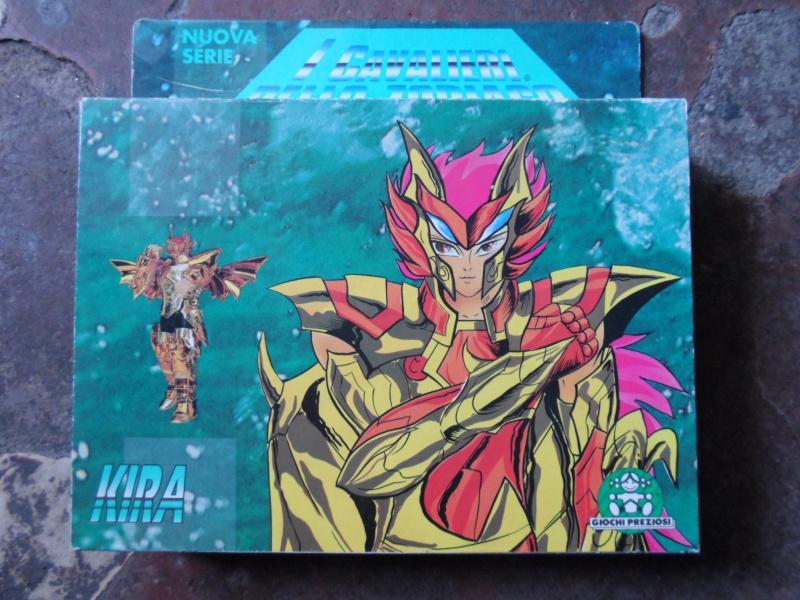 Cavalieri dello Zodiaco scatola tempio 1988/89 Kira10