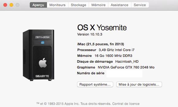LOGO Yosemite A propos de ce Mac 10