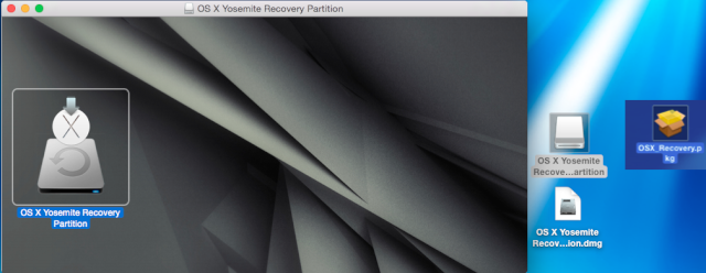 OS X Yosemite Recovery Partition 15210