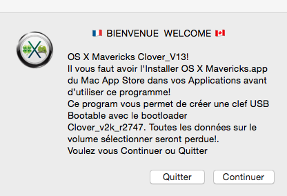 Installer OS X Mavericks V13 164