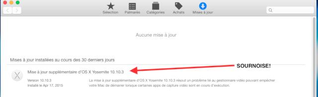 MAJ OS X 10.10.3 release disponible - Page 2 Sourno10