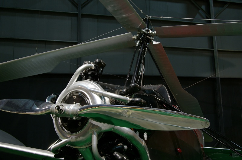 Cox engined Autogyro Afm00810