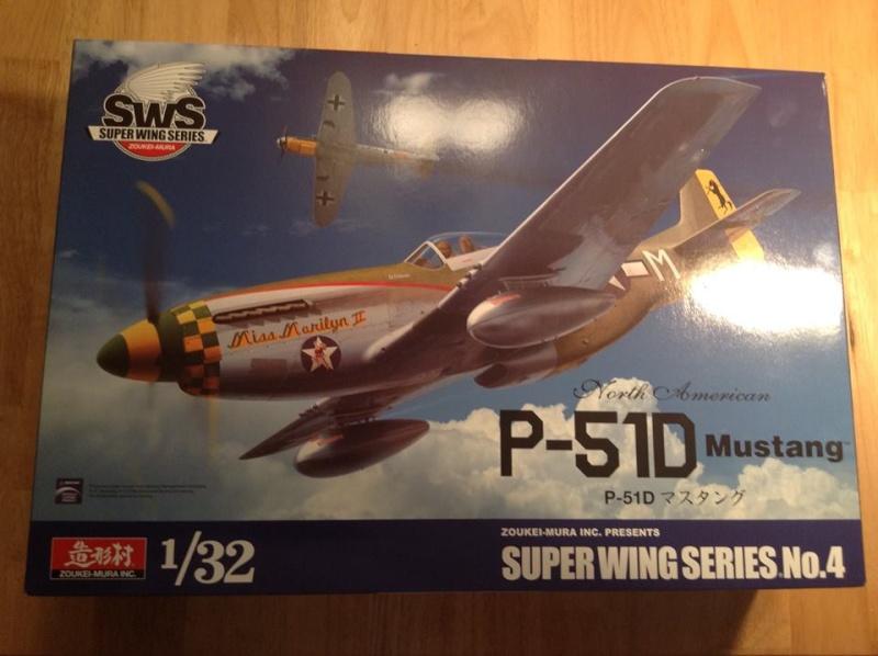 MUSTANG P-51 D/K ZOUKEI-MURA 1/32 11178210