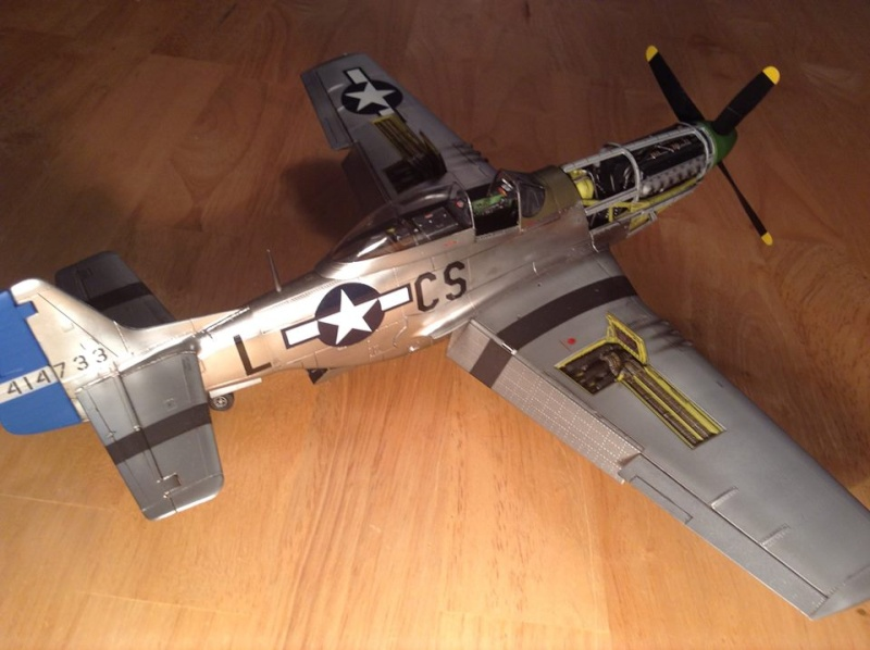 MUSTANG P-51 D/K ZOUKEI-MURA 1/32 11206010