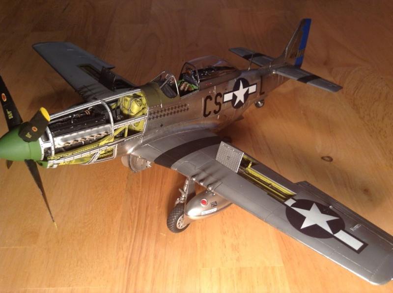 MUSTANG P-51 D/K ZOUKEI-MURA 1/32 20115_10