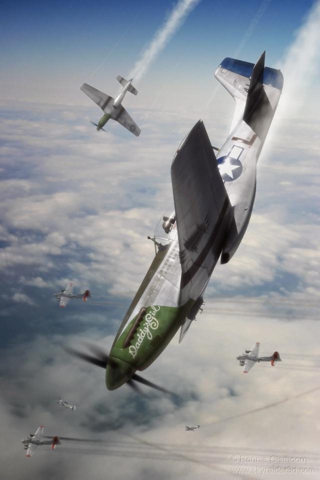 MUSTANG P-51 D/K ZOUKEI-MURA 1/32 Daddys10