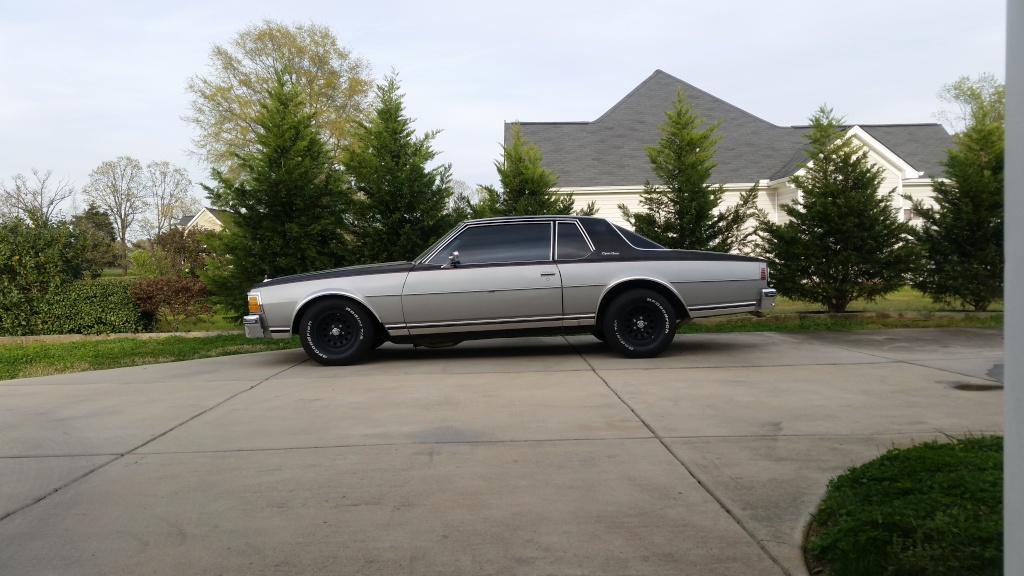 Lowered the Caprice, weight reduction, etc 20150410