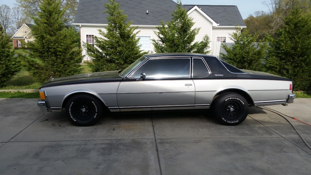 Lowered the Caprice, weight reduction, etc 20150415