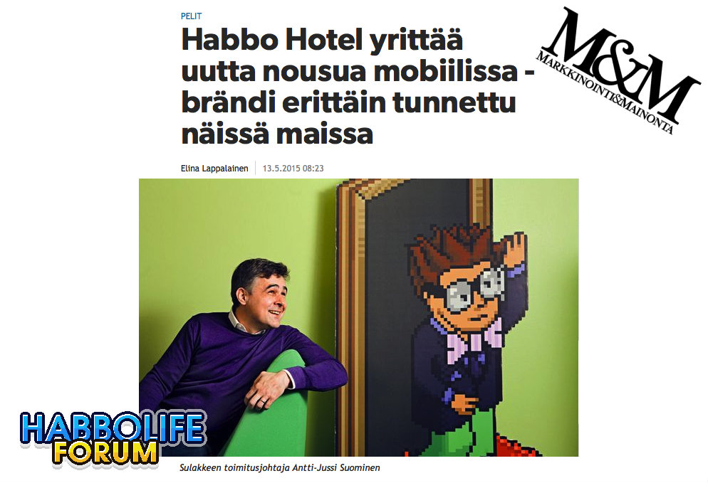 Il CEO di Sulake discute del futuro di Habbo con la stampa finlandese Artico11