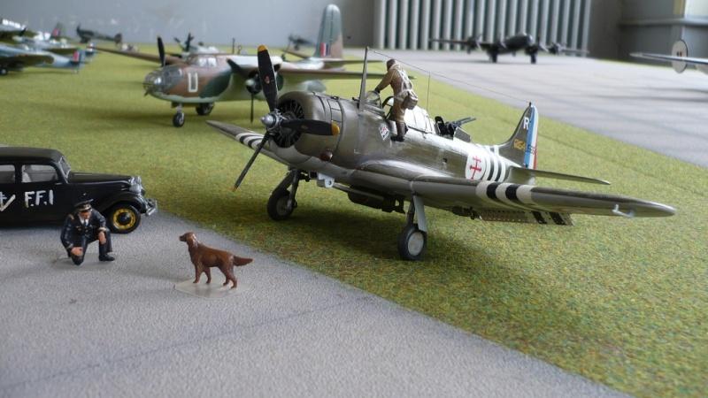"Douglas A-24 Banshee du 1/18 ""vendée"" (projet AA) P1180112"