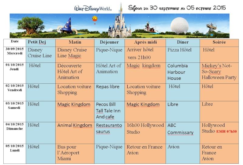 Pré TR Disney cruise line transatlantique avec les enfants puis Disney World - Page 3 Progra10