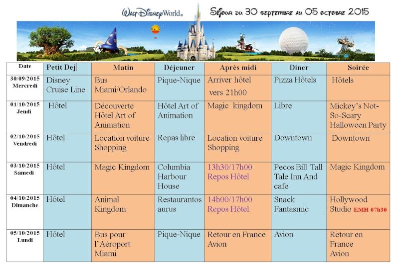 Pré TR Disney cruise line transatlantique avec les enfants puis Disney World - Page 3 Progra11