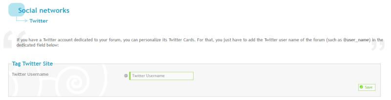 Hoe moet je de Twitterkaart op je forum gebruiken? Tags310