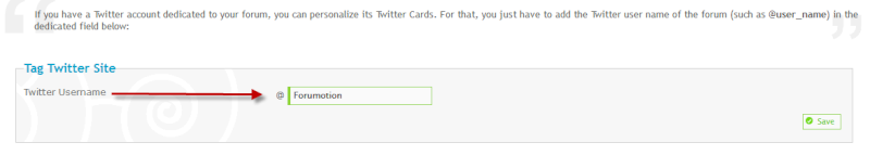 NEWS: Twitter Cards on Forumotion Forums Twitte13