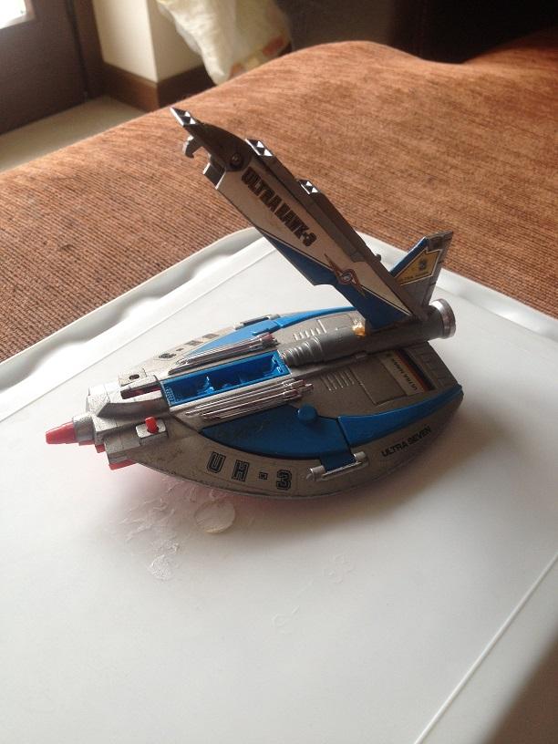 Ultra Hawk 3 serie Ultraseven - Popy PB-75 Img_3715