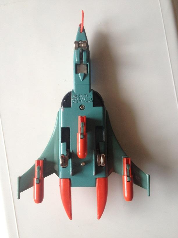 Yamato (Star Blazers) Cosmo Tiger - Nomura Made in Japan Img_3730