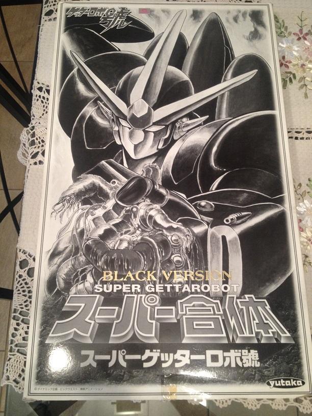 Super Getter Robot Go - Dx YUTAKA Black Version Img_3743
