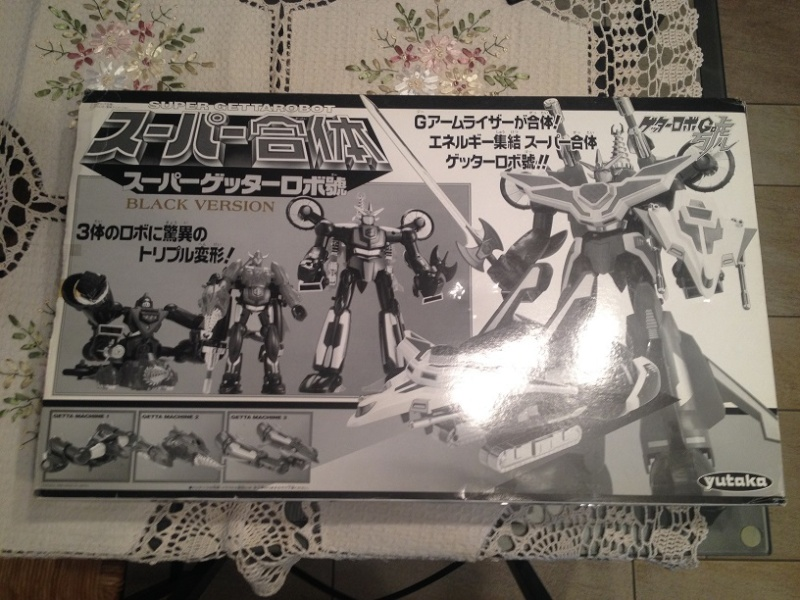 Super Getter Robot Go - Dx YUTAKA Black Version Img_3746