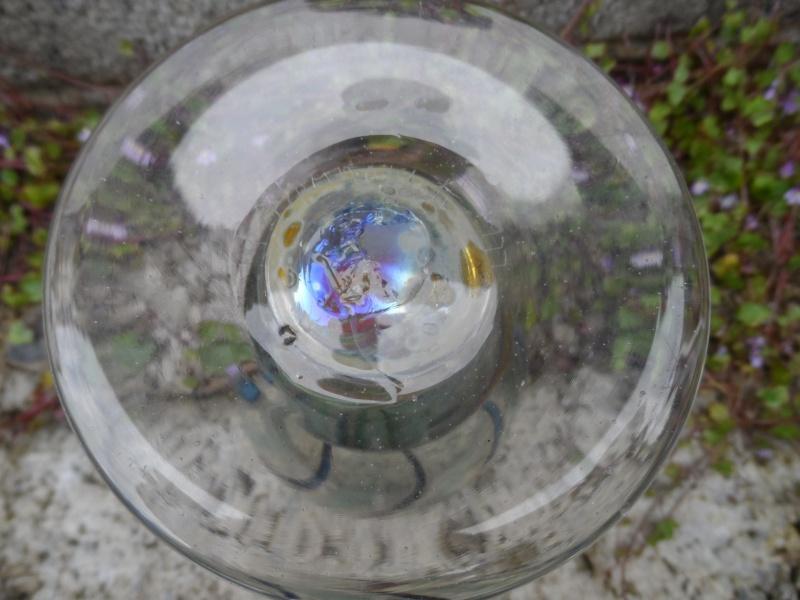 Vintage swirl glass vase/goblet #1 Sam_3217