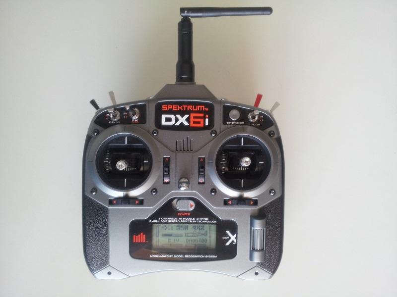 Radio specktrum dx6i Dx6i1710