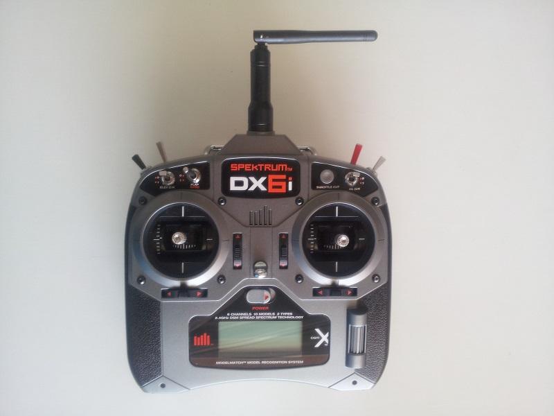 Radio specktrum dx6i Dxi61810