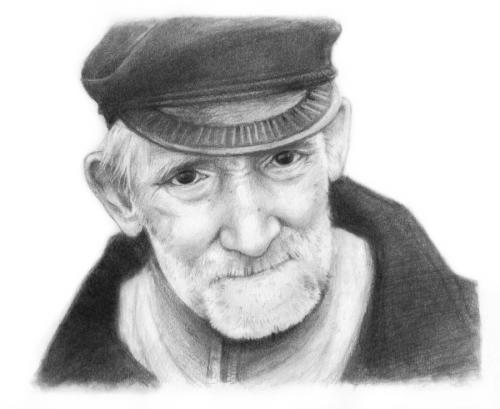 Le vieillard (Mots d'Avril) 14897410