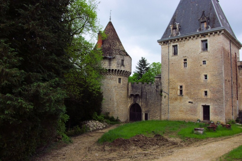 Château de la ceuille hammeau de Poncin; A_cuei10