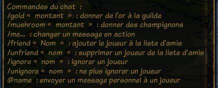 Commandes chat de guilde Chat10