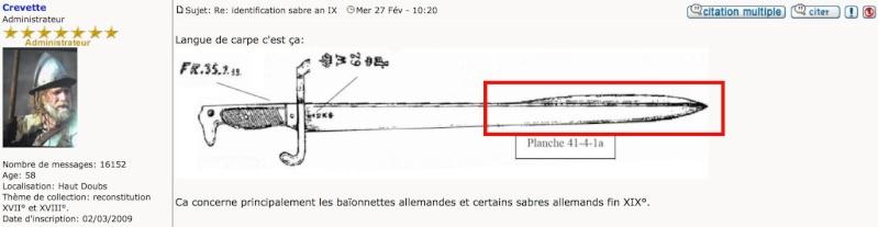 Identifier un sabre à l'orientale Langue11