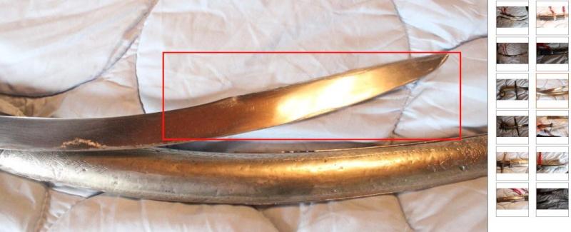 Identifier un sabre à l'orientale Langue12