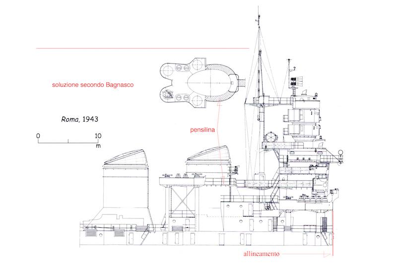CORAZZATA - La Corazzata Roma di MacPit - Trumpeter sc: 1/350 - Pagina 5 Roma_a10