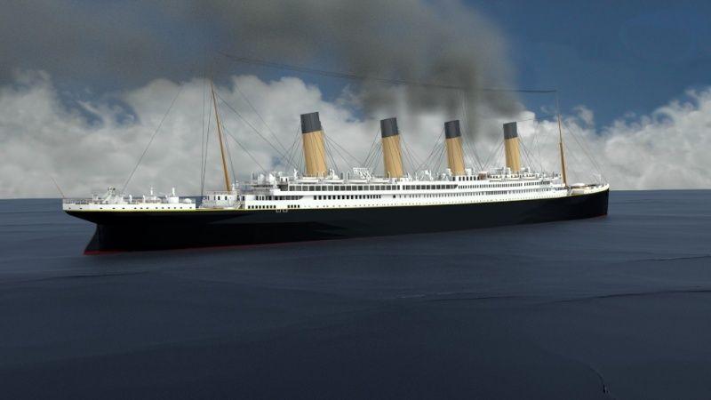 Titanic sous Blender - 21PhilC1 - Page 4 Voyage10