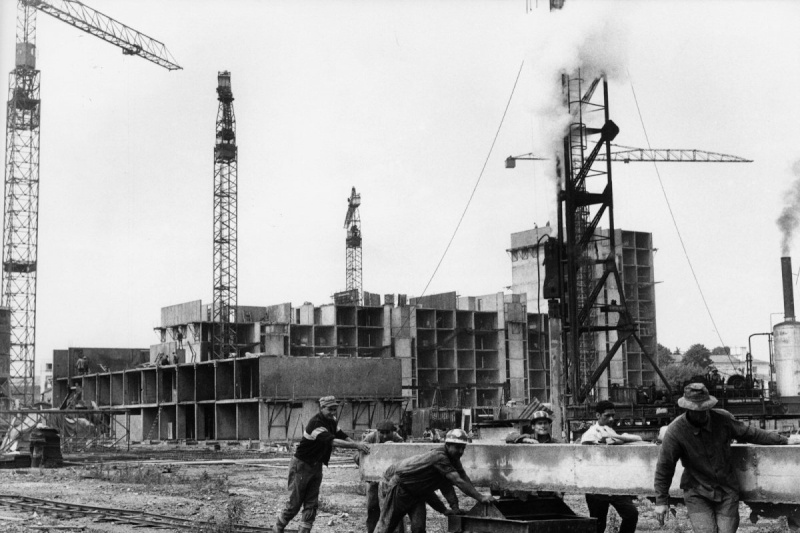 Construction du grand parc de 1960 à 1975 (Bordeaux) 17567510