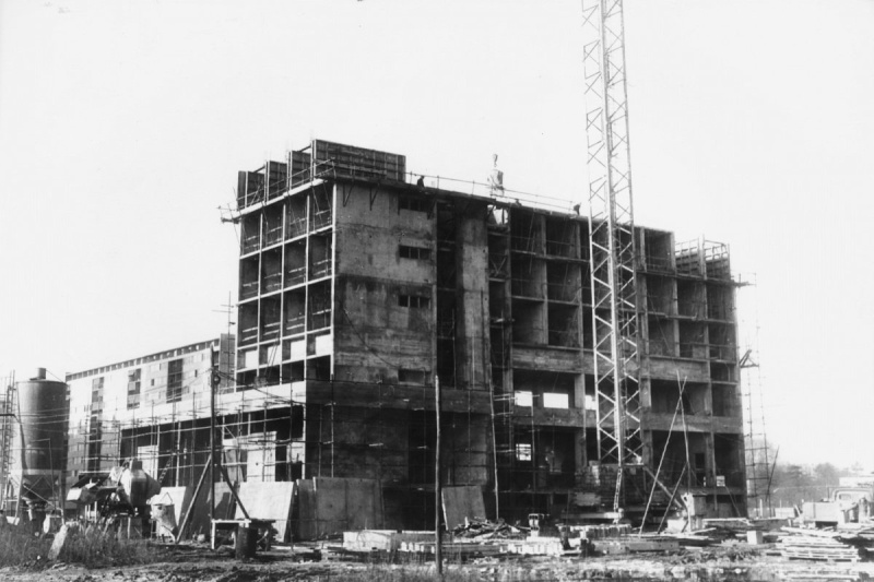 Construction du grand parc de 1960 à 1975 (Bordeaux) 17567511