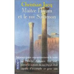 Maître Hiram et le roi Salomon de Christian Jacq Xy240110