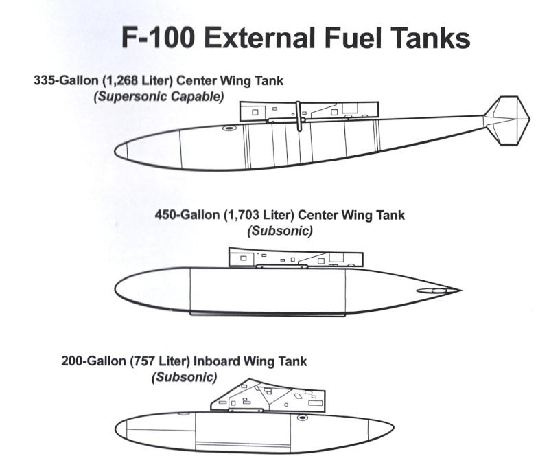 F 100 SUPER SABRE 1/48 Monogram P3v-f110