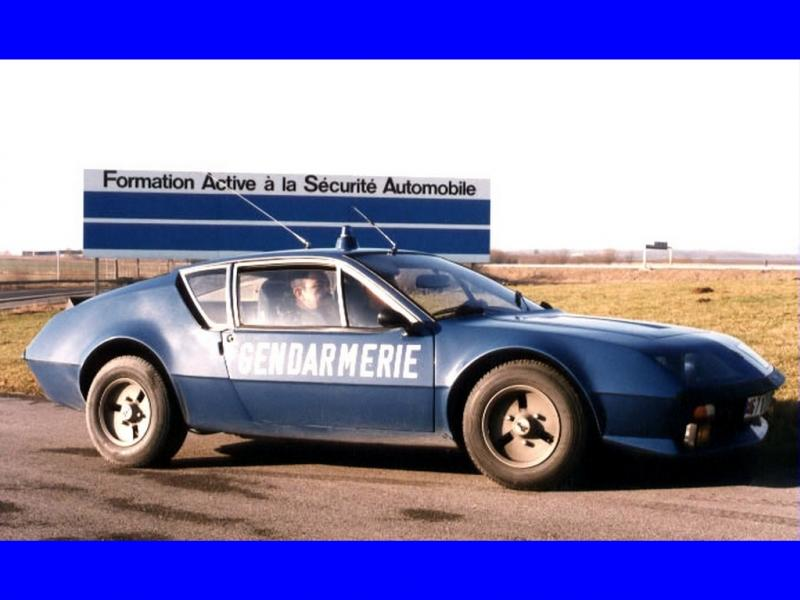 Des porsche en gendarmerie ??? Alpine12