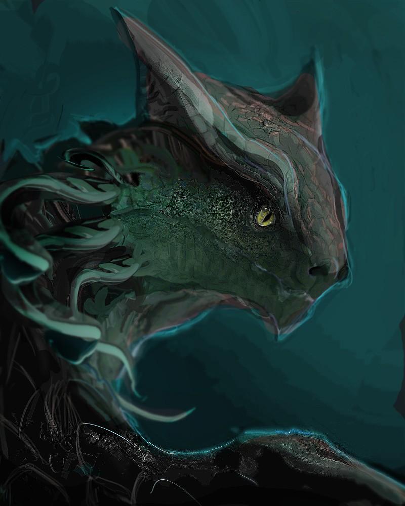 Les gribouilles d'Atna: objectif landscape et persos - Page 2 Dragon12