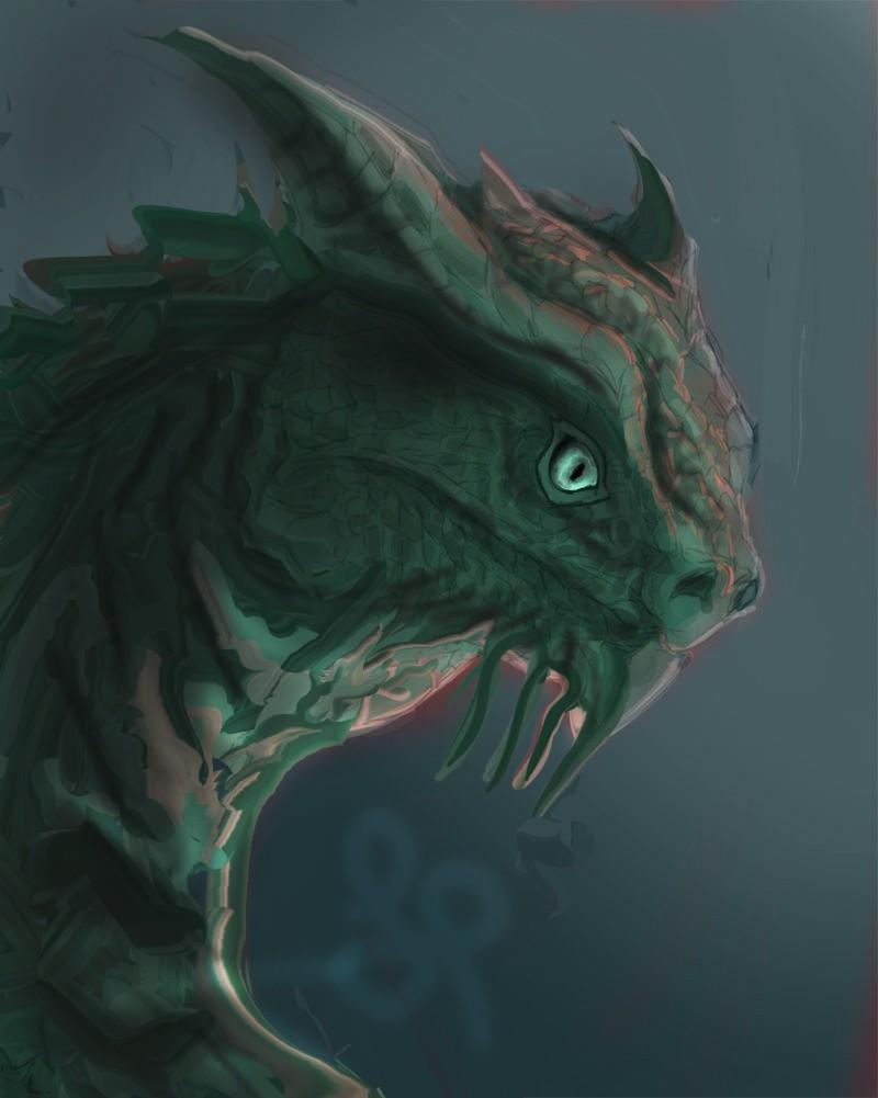 Les gribouilles d'Atna: objectif landscape et persos - Page 2 Dragon14