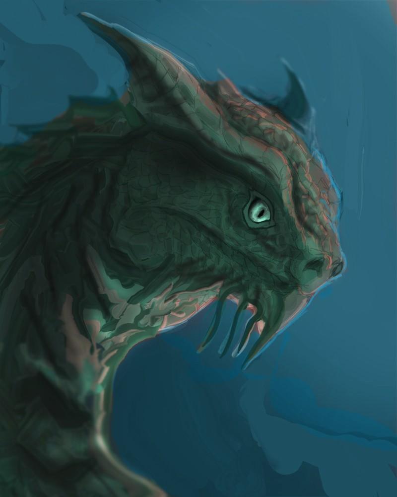 Les gribouilles d'Atna: objectif landscape et persos - Page 2 Dragon15