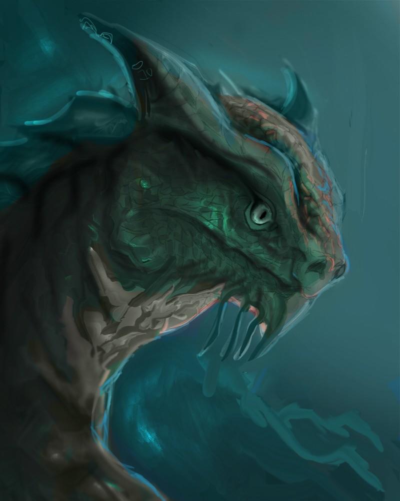Les gribouilles d'Atna: objectif landscape et persos - Page 2 Dragon16