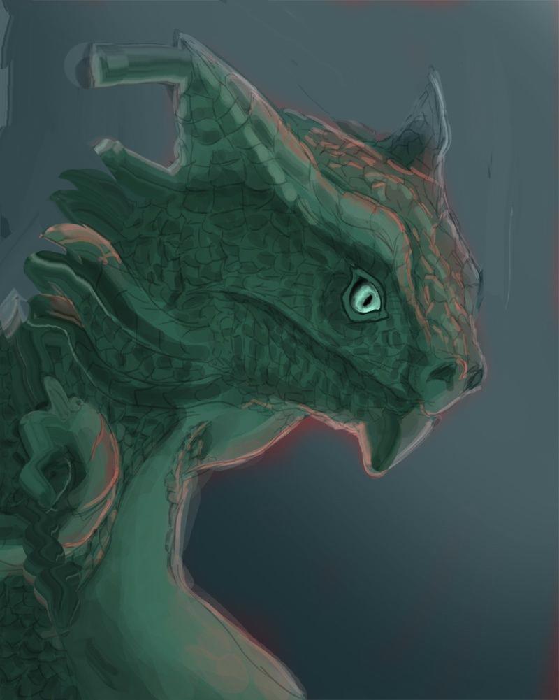 Les gribouilles d'Atna: objectif landscape et persos - Page 2 Dragon23