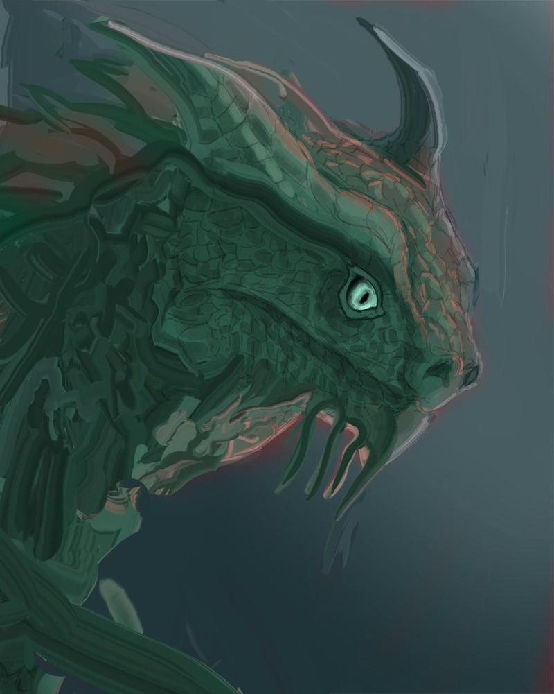 Les gribouilles d'Atna: objectif landscape et persos - Page 2 Dragon24