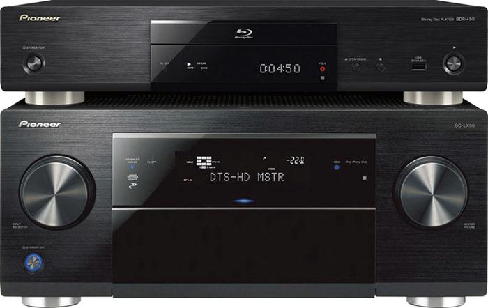 Pioneer BDP-450 3D Bluray Player, HDSir Units, Dual HDMI, Lifetime FW Update,1 YR Warr, 1-1 Exchange 450_st10