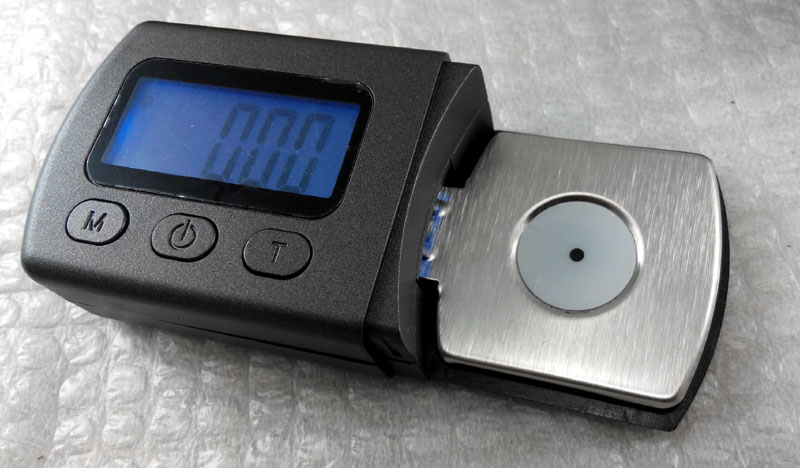 Stylus Force Tracking Gauge / Arm Load Meter for Vinylphiles Weight17