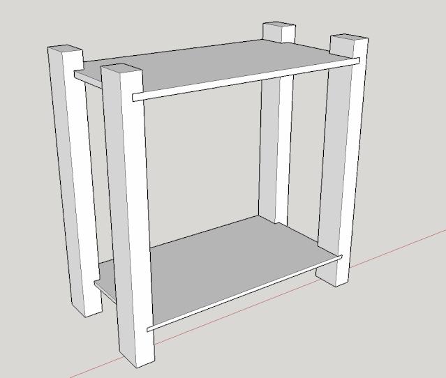 Une petite étagère simple Captur10
